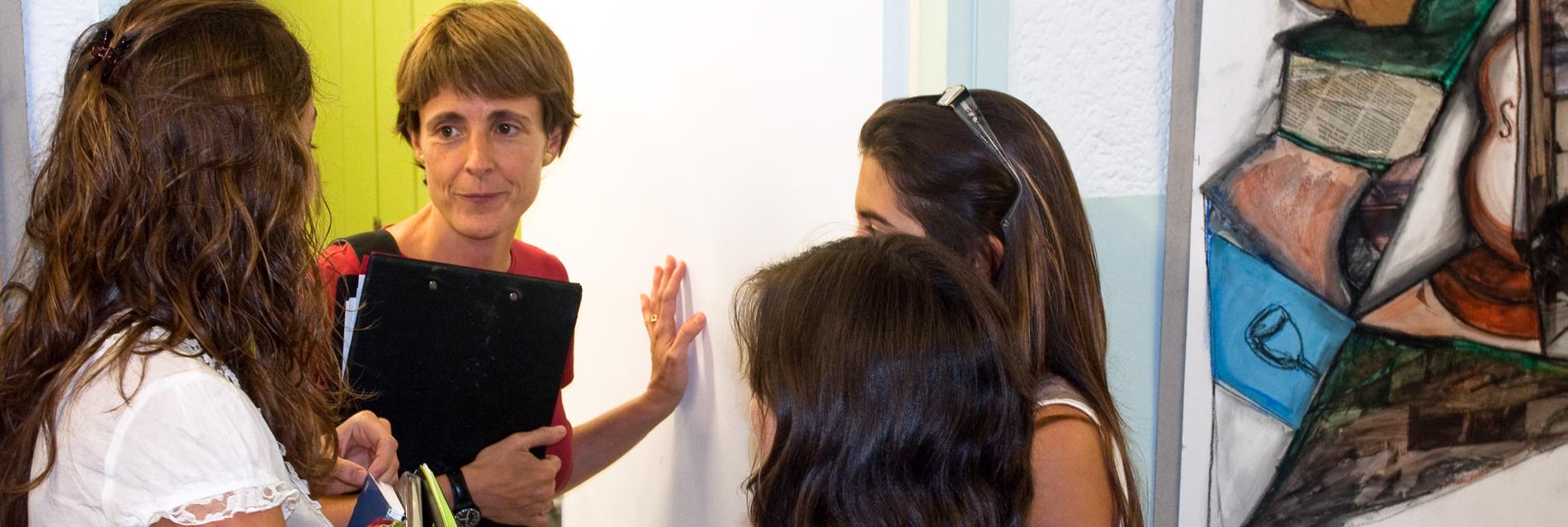 Tutorias individualizadas para alumnos nuevos