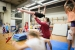 A classe de gimnàstica