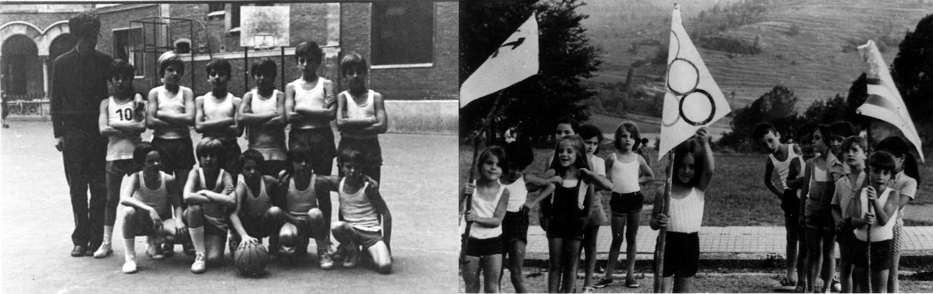 Deportes en la escuela en sus inicios